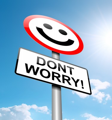 Worry is bad for you and for the situation