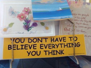 You Don't Have To Believe What You Think