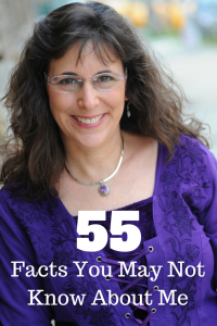 55 Facts You May Not Know About Me