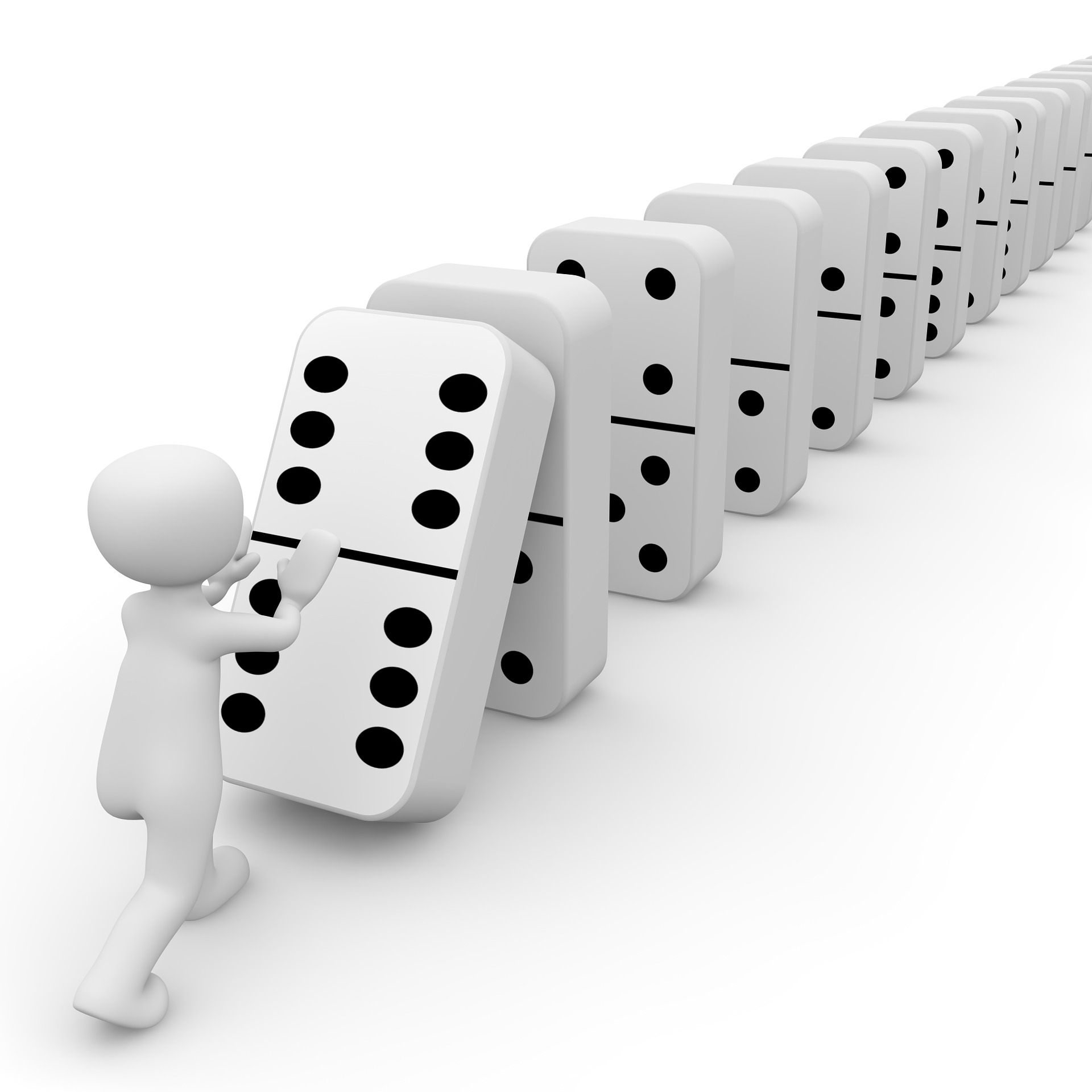 Monday Inspiration: Create a Domino Effect - Nina Amir