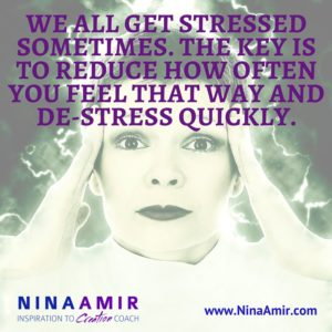 Create Inspired Results: De-Stress FAST!