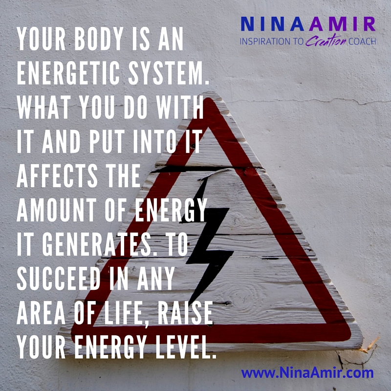your body is an energetic system