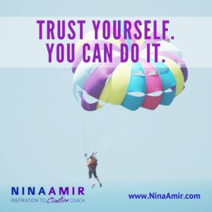 Monday Inspiration: Trust Yourself