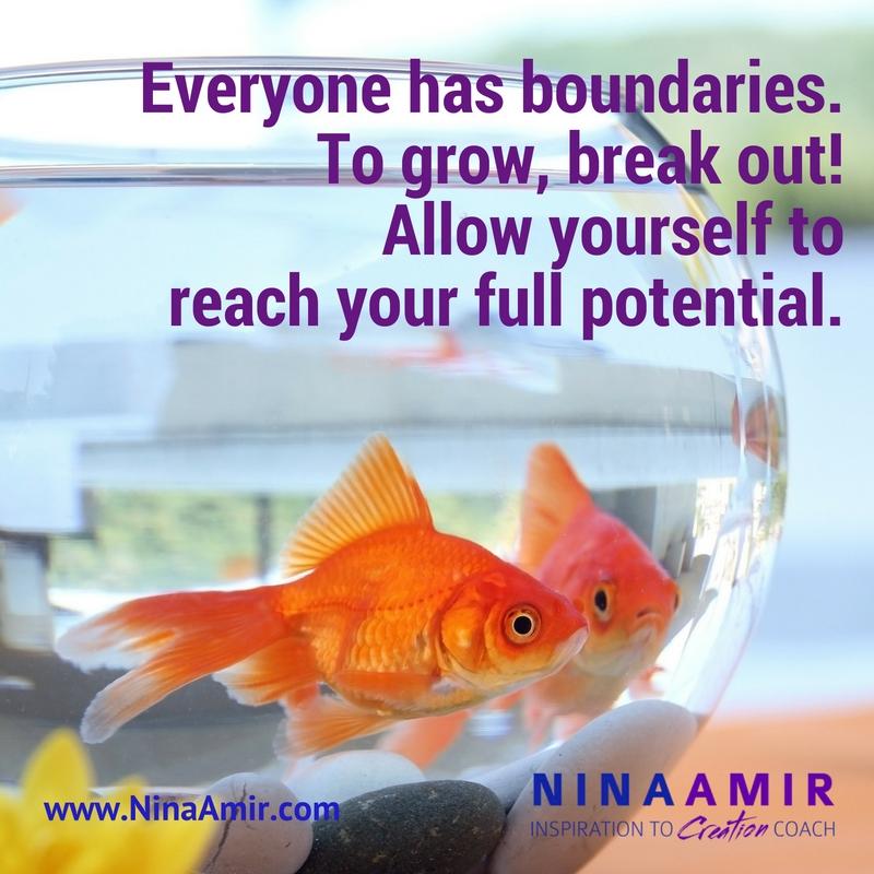 grow by breaking your boundaries