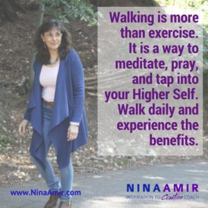 Monday Inspiration: Walk Daily