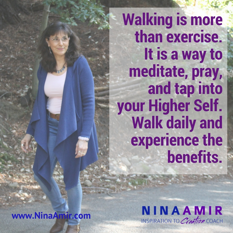 the benefits of walk daily