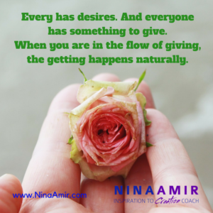 Monday Inspiration: Giving and Receiving