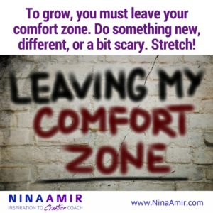 Monday Inspiration: Get Out of Your Comfort Zone