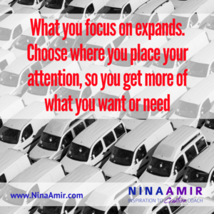 Create Inspired Results: Focus on What You Need