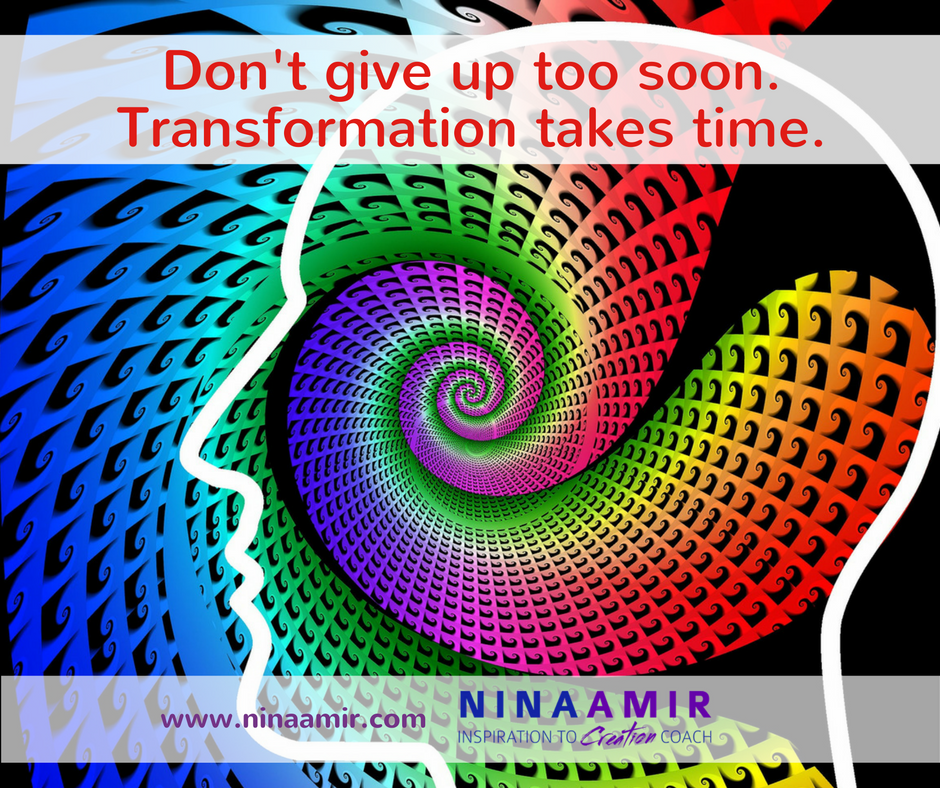 dont' give up on transformational tools too soon