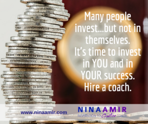 Monday Inspiration: Invest in Yourself by Hiring a Coach
