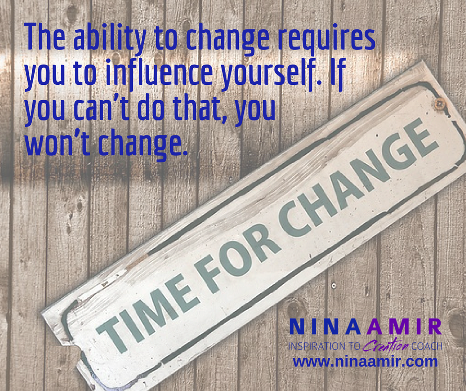 change requires influence