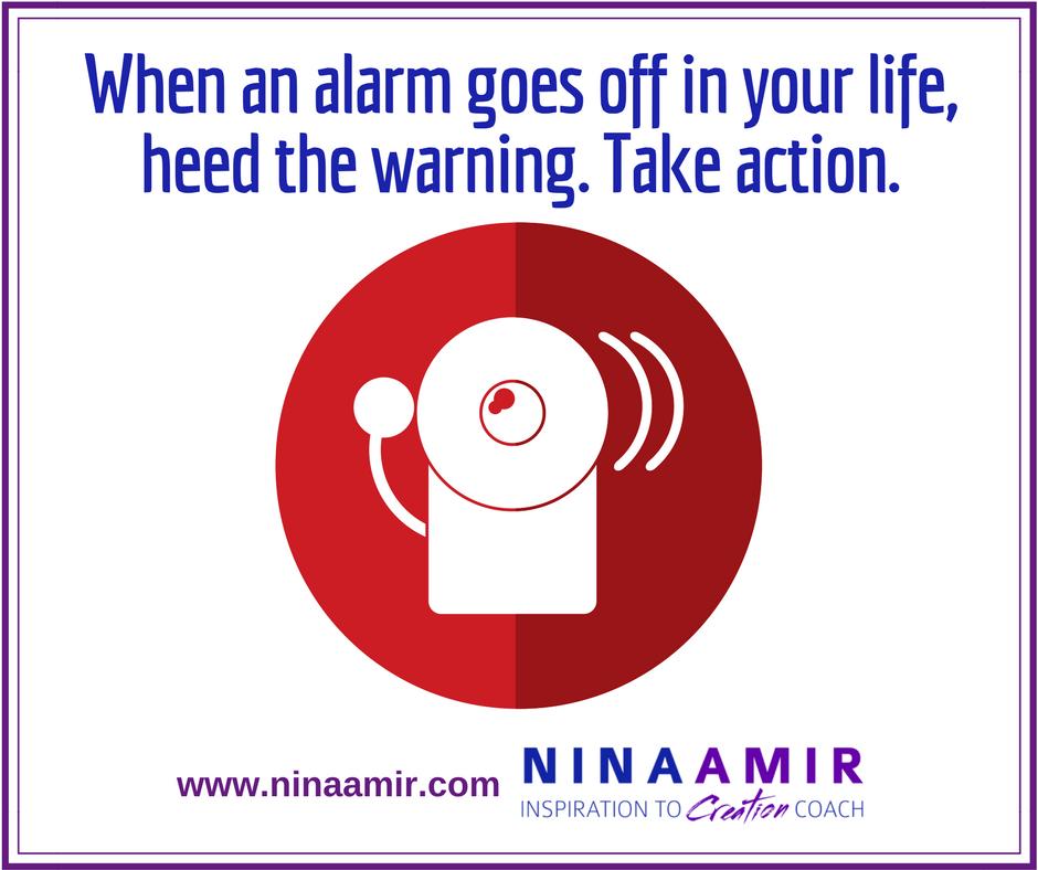 warning alarms