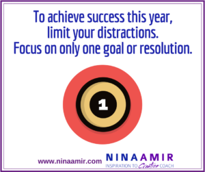 Create Inspired Results: Focus on One Thing