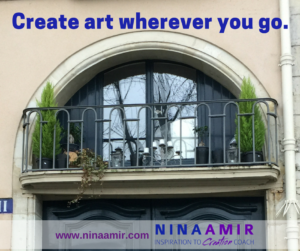 Now is the Time to Create Your Art
