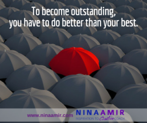 How to Become Outstanding Personally and Professionally