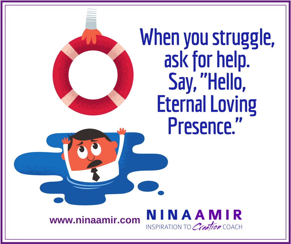 Help = Hello eternal loving presence
