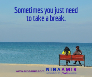 Create Inspired Results: Take a Break Today