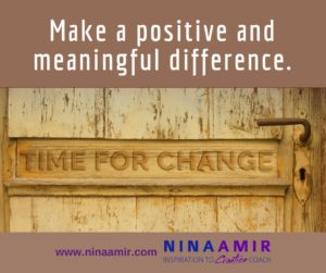 Monday Inspiration: Create a Positive and Meaningful Difference in the World