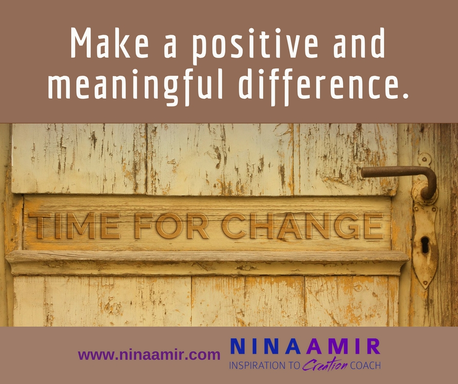 become a change agent