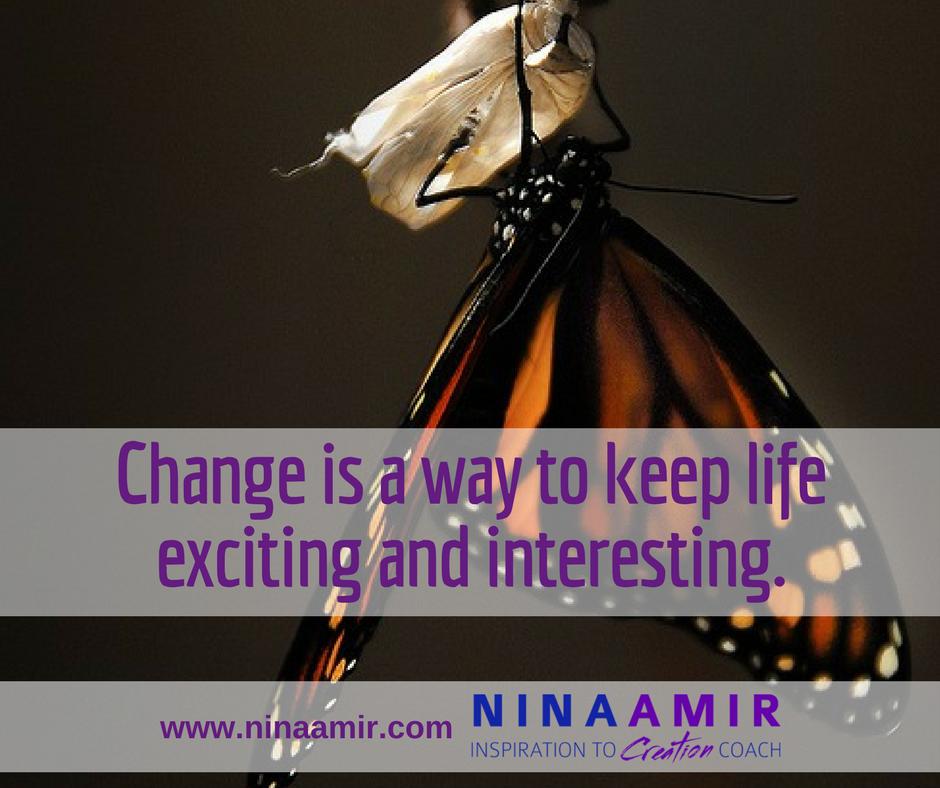 change provides variety