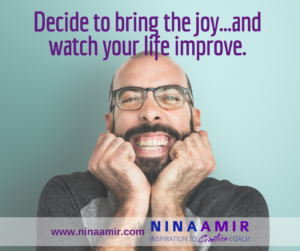 Monday Inspiration: Bring the Joy