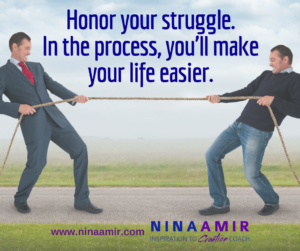 Create Inspired Results: Honor Your Struggle