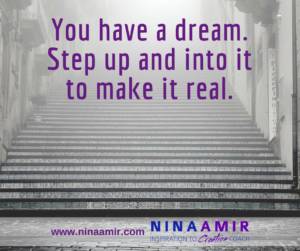 Create Inspired Results: Step Into Your dream