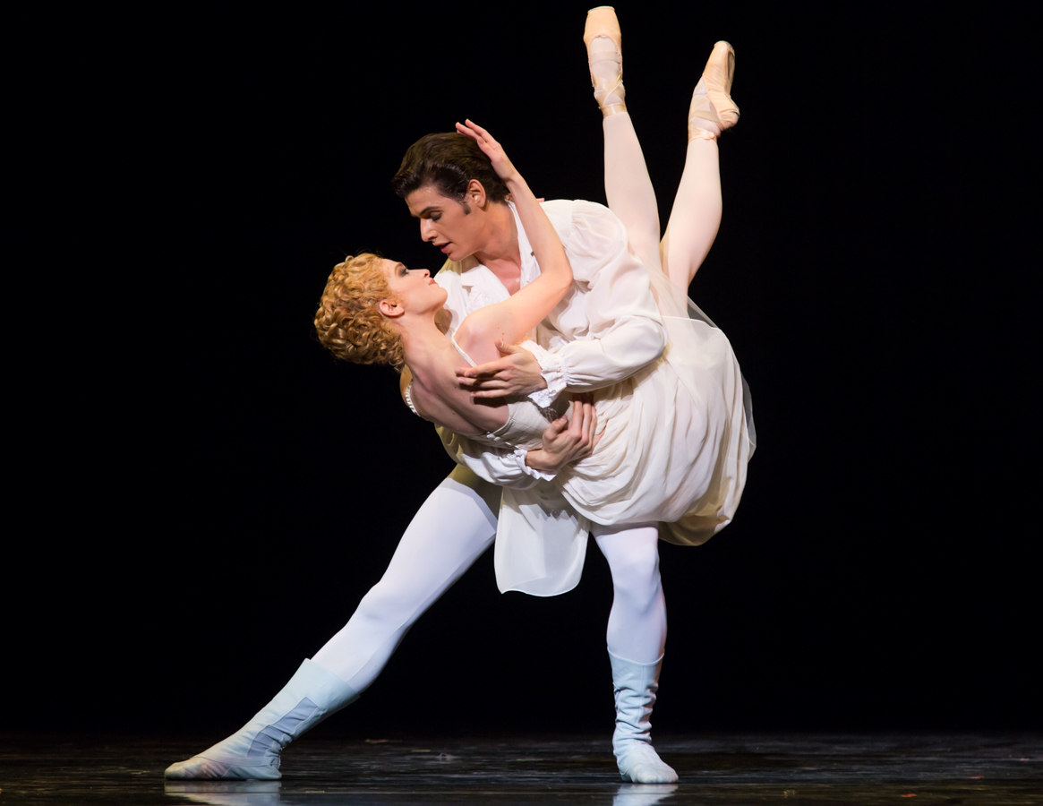 Photo Credit: Ian Whalen | Dancers: Sarah Hay and Julian Amir Lacey of SemperOper Ballett