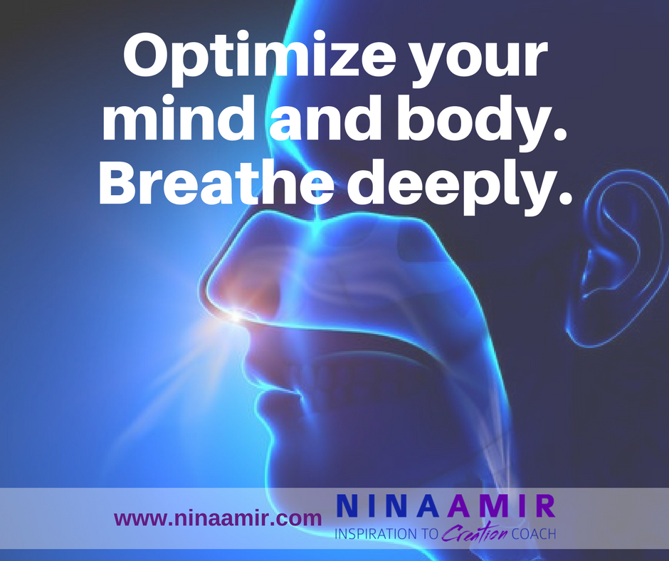 deep breathing for optimal brain and body