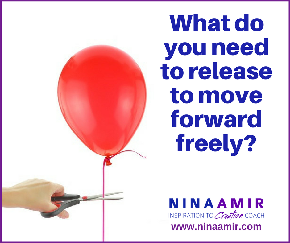 release what you don't want or need