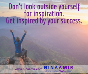 inspire yourself with success