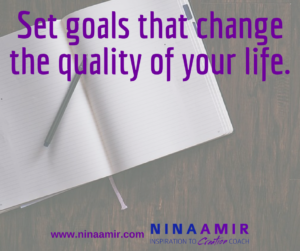 Create Inspired Results: Set Meaningful Goals