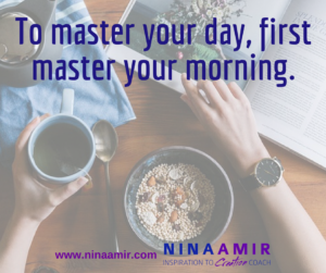 Master Your Day with a Morning Routine