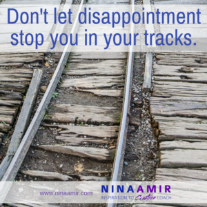 unmet expectations lead to disappointment