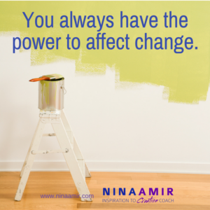 YOu have personal power and can create change