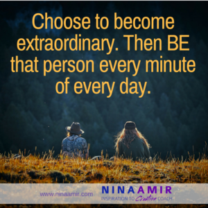 ordinary vs. extraordinary people