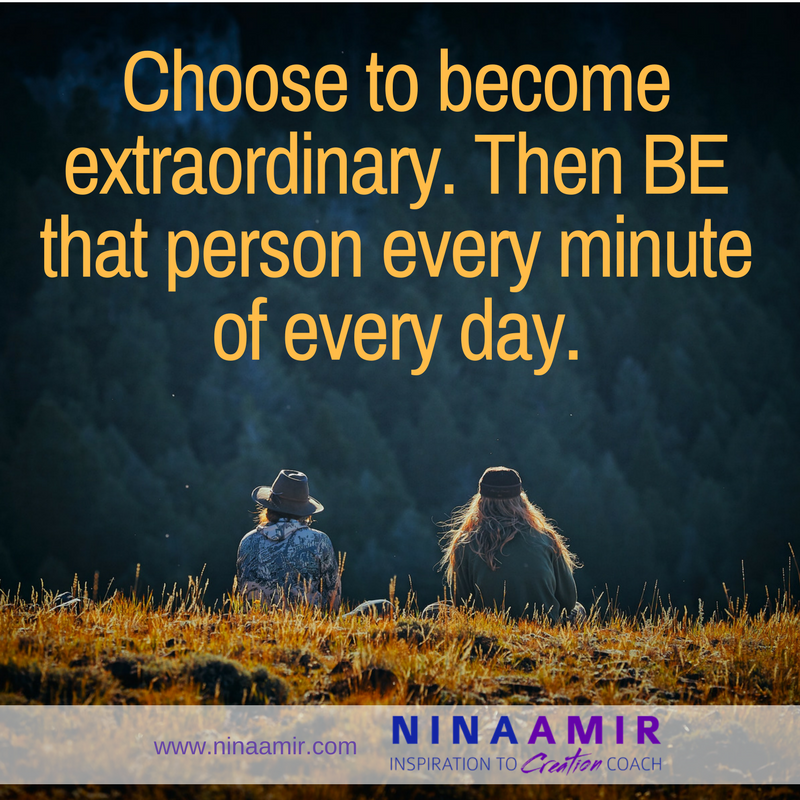 ordinary vs. extraordinary people