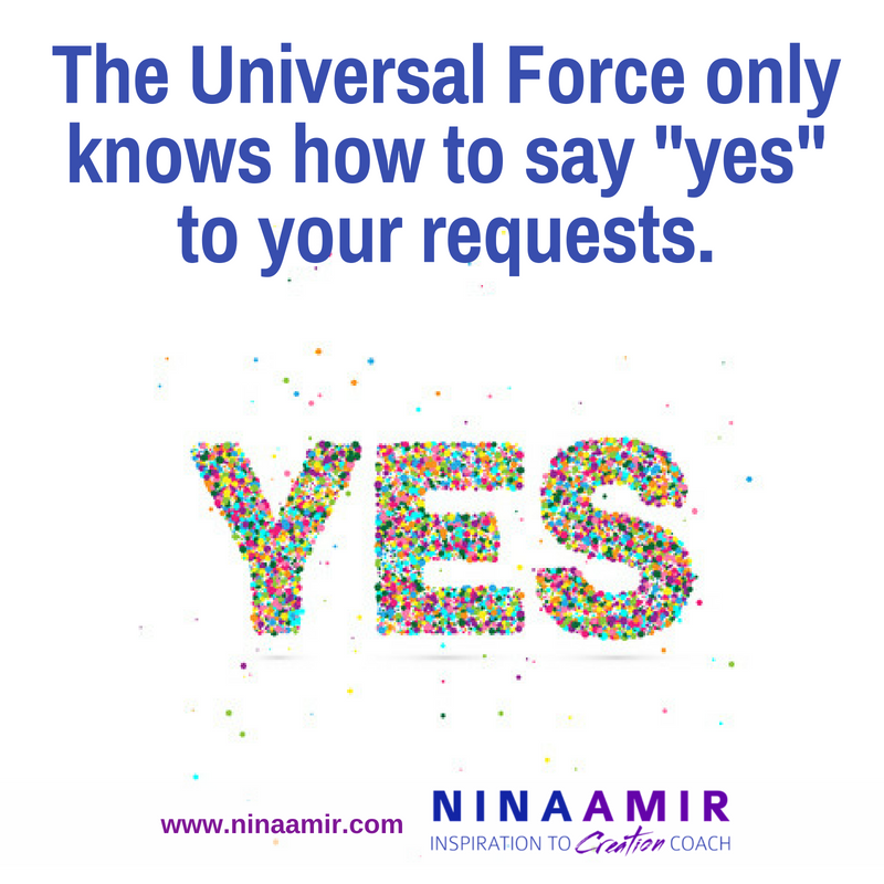 Yes to your requests and desires