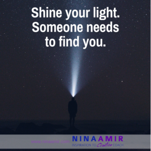 How to Shine Your Light on the World