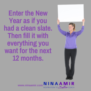 Start the New Year with a Clean Slate