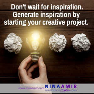 Don't Wait for Inspiration to Hit
