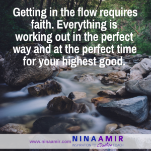 How to Surrender and Go with the Flow