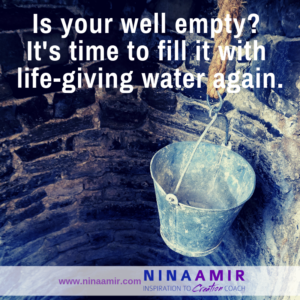 how to fill your well when it runs dry