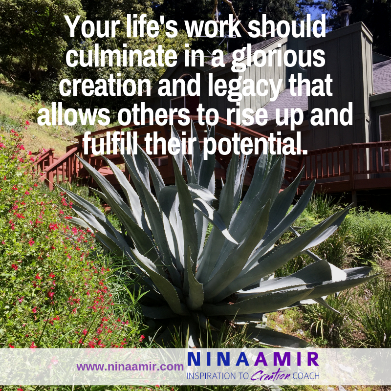 fulfill your potential and purpose while leaving a legacy