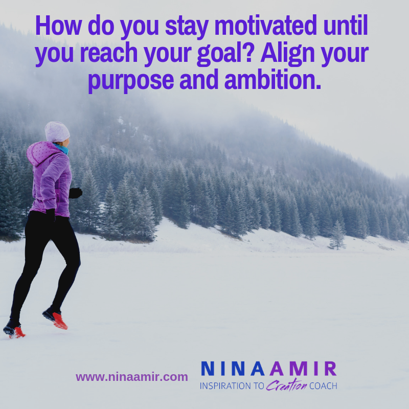 how do you create sustainable motivation--a desire for constent action toward an ambition
