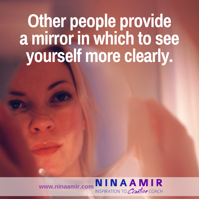 the process of mirroring is a powerful tool for self-improvement