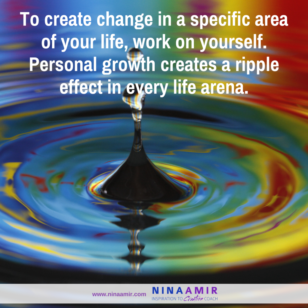 Personal development or personal growth affects every area of your life
