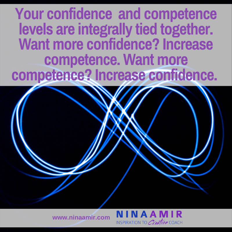 How to increase confidence with more competence