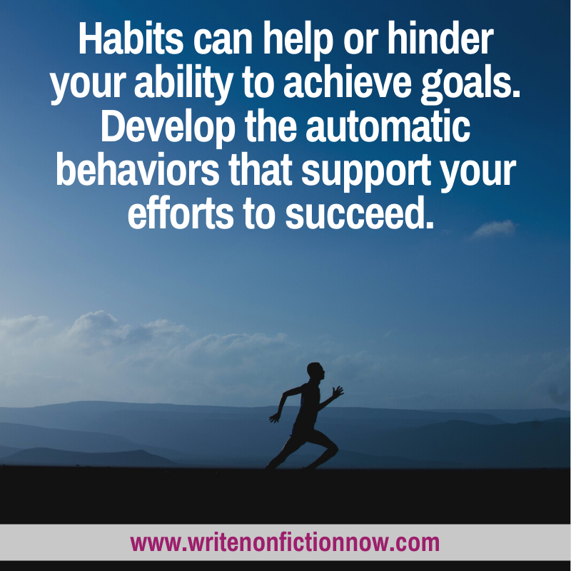 tips and strategies for developing a habit